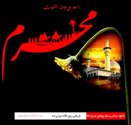 دانلود مداحی کربلایی روح الله حیدرزاده سیاه پوشان محرم ۹۳