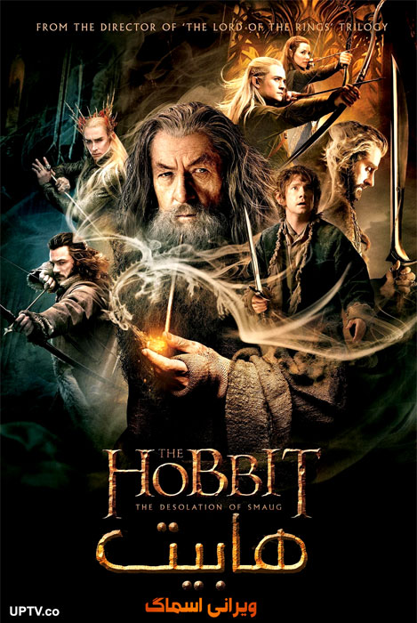 دانلود فیلم The Hobbit The Desolation of Smaug 2013 هابیت ویرانی اسماگ