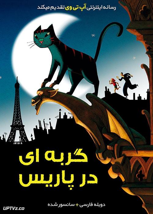 دانلود انیمیشن گربه ای در پاریس A Cat in Paris با دوبله فارسی