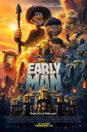 دانلود انیمیشن انسان اولیه Early Man 2018 دوبله فارسی